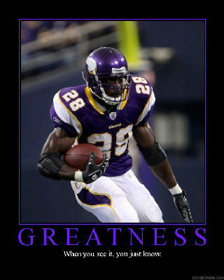 adrian peterson greatness