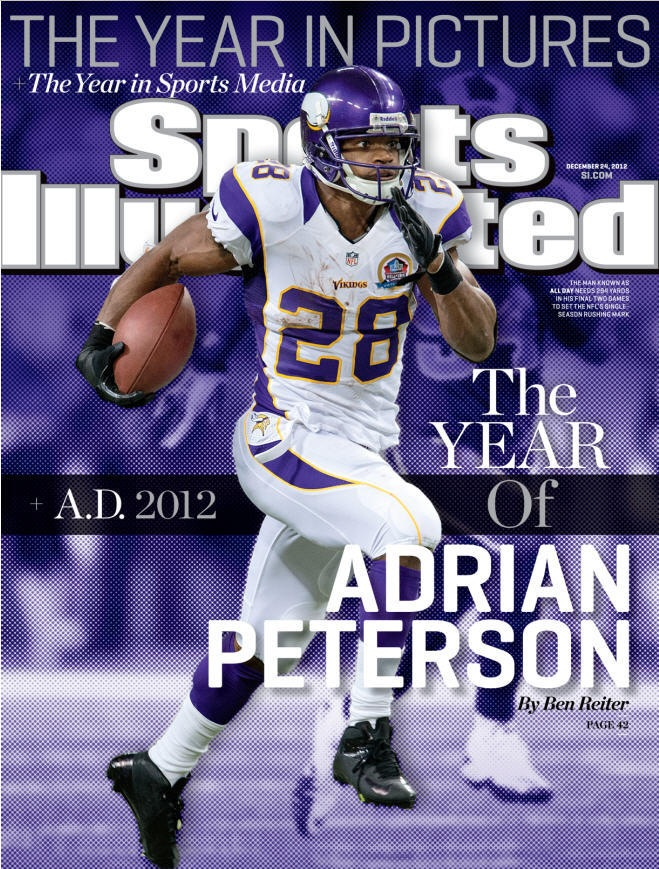 Adrian Peterson Sports Illustrated