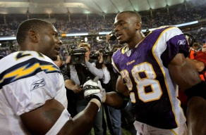 adrian peterson and LT
